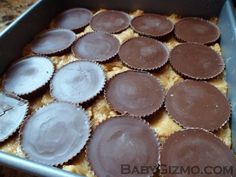 "Ultimate Pretzel Crusted Peanut Butter Cookie Candy Brownie Bars or otherwise known as ""My BFF Bars""."