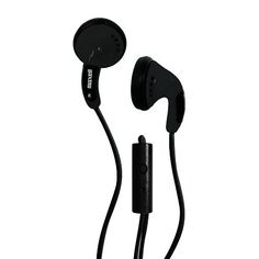 Maxell Color Buds with Inline Microphone - Black MP3, DVD On Sale Now!