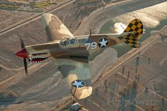 Photo of CURTISS Warhawk ✈ FlightAware