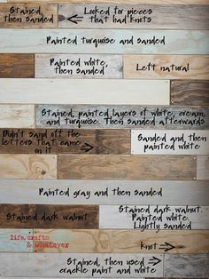 Creating a Faux-Reclaimed Wood Wall…