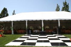Allie's Party Rental Black and White