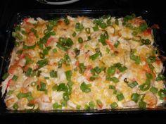 Creamy Seafood Casserole (Low Carb)