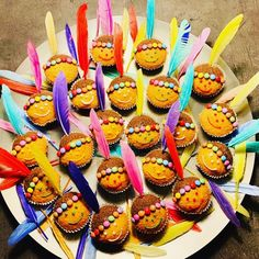 indian food and drink - Recipes Indian Birthday Parties, Indian Party, Fire Cupcakes, Pow Wow Party, Paleo Meal Plan, Paleo Diet, Party Treats, Food Humor, Mini Muffins
