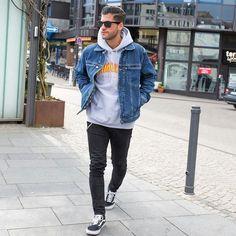 7 Best Denim Jacket Images Male Style Man Style Clothing