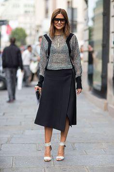 Street Style: Paris Fashion Week Spring 2014 - Christine Centenera