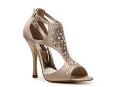 Moda Spana Olivia Gold Wedge Randomly Found These When
