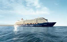 Download wallpapers Mein Schiff 3, cruise liner, luxury ship, Caribbean Sea, passenger large ship, Royal Caribbean Cruises, TUI Cruises