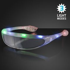 e16f2dba8df8c Light Up Futuristic Sunglasses (Pack of 12)