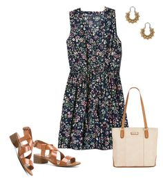 """""""Untitled #627"""" by texasgal50 ❤ liked on Polyvore featuring Steve Madden, Gap, Marc Fisher and Lucky Brand"""