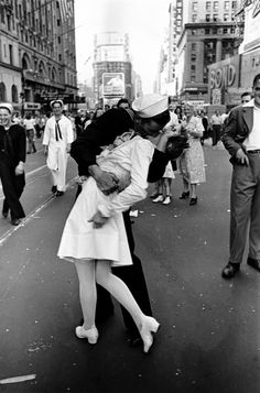 A Leica camera was behind Alfred Eisenstaedt's iconic image of a sailor kissing a woman in New York's Times Square at the end of World War II. Leica has played a 'highly significant role in 20th century photography,' says Naomi Rosenblum, a historian of photography.