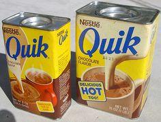 Quand le Quik était bon et goûtait le vrai Quik AHAHAHAH