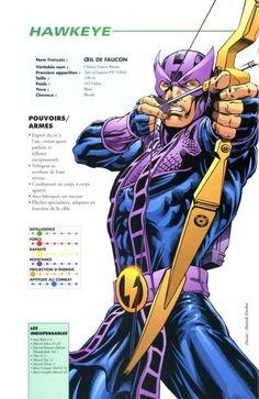 hawkeye. my favourite comic book super hero!