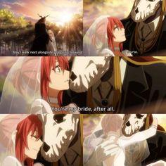 Ancient Magus' Bride Chise and Elias