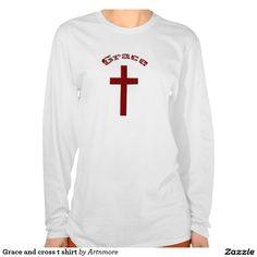 Grace and cross t shirt