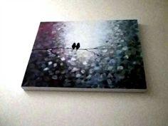 Acrylic by Sue Roche The last two birds.