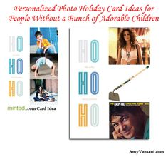 Personalized Photo Holiday Card Ideas for People Without a Bunch of Adorable Children