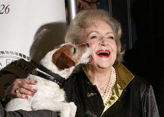 Uggie & Betty White