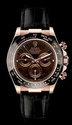 Love it!! Rolex Daytona (in Rose Gold / Black)