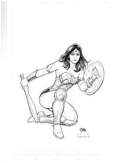 Wonderwoman by Frank Cho