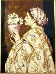 Frederic Leighton | A noble lady of Venice | hauk sven | Flickr