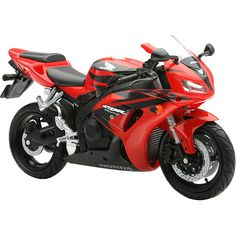 accessories-new-ray-toy-motorcycle My favorite colors, red and black