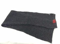 Y-3 Yohji Yamamoto Schal XL grau unisex lang edel für Damen und Herren adidas