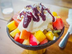 Check out the top tourist spots in Bohol – including where to find this fruit bowl! #Bohol
