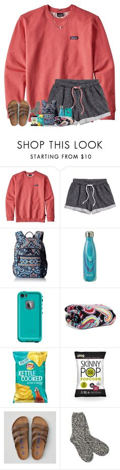"""long car rides..."" by arieannahicks ❤ liked on Polyvore featuring Patagonia, H&M, Vera Bradley, S'well, LifeProof, American Eagle Outfitters and TNA"