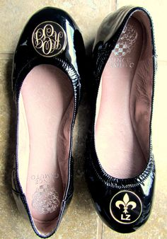 Personalized Ballet Flats from Swagstamp.com