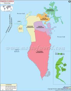 Bahrain Map - http://allholidaytips.com/bahrain-map/