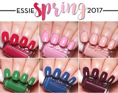 Essie Spring 2017 Collection Nail Polish