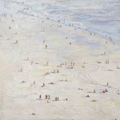 Giant Beach Paintings   Paul Ferney