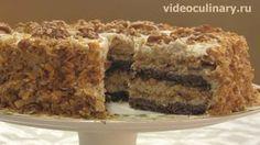 Торт Сметанник - любимый в народе торт. Как приготовить вкусный и красивый Торт? - Бабушка Эмма и Видеокулинария - Видео и пошаговый рецепт Торта Сметанник
