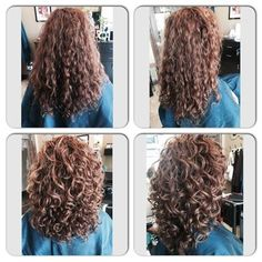Before and After : Deva Cut, curly hair