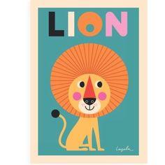 Moderna Museet Webshop - Lejon affisch