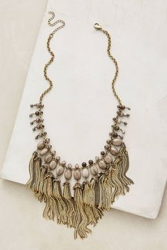 Teralyn Tassel Necklace - anthropologie.com