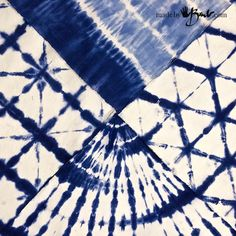 Simplified Shibori Dyeing - Made By Barb 4 simple patterns to make some pillows