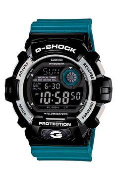 G-Shock 'Crazy Color' Digital Watch, 55mm | Nordstrom