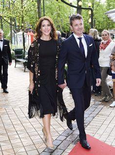 La Familia Real de Dinamarca se va de fiesta