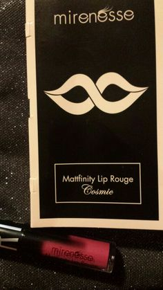 ❎TRADED/Denise R❎     Mirenesse Mattfinity Lip Rouge in Paris ***New/Deluxe Sample***