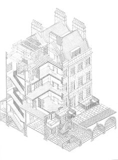 When we think of Regency architecture we think of the beautiful Georgian architecture so popular in Bath and Brighton. While there were subtle variations in design and detail, the basic plan for Fi… Georgian Townhouse, Georgian Homes, Regency House, Regency Era, Georgian Architecture, Architecture Plan, Georgian Buildings, Architecture Diagrams, Architecture Portfolio