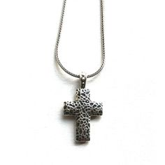 Rugged Cross Necklace on SonGear.com - Christian Shirts, Jewelry