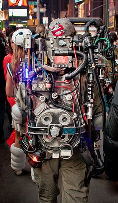 cool Ghostbuster Proton Pack pictures