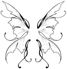 I've been trying to decide for years what the wings in my future tattoo will look like. These have come the closest. They'd just need to be in color.