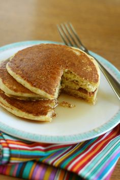Fluffy Gluten-Free Pancakes- this is for you Sadie!!!!!!!
