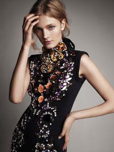Constance Jablonski by Victor Demarchelier for Harper's Bazaar Australia