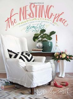 The Nesting Place :: It Doesn't have to be Perfect to be Beautiful - flowers in riding boot umbrella stand