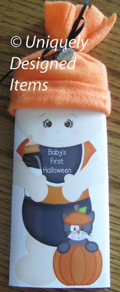 Baby's First Halloween Baby bars check by UniquelyDesigneditem, $3.75