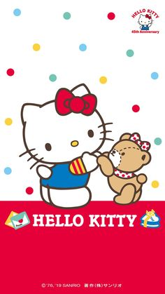 Hello Kitty 45th Anniversary Wallpaper