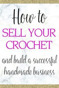 handmade crochet business